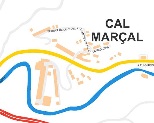 Mapa Cal Marçal