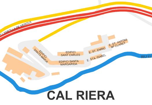 Mapa Cal Riera