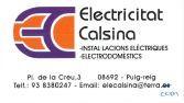 Electricitat Calsina