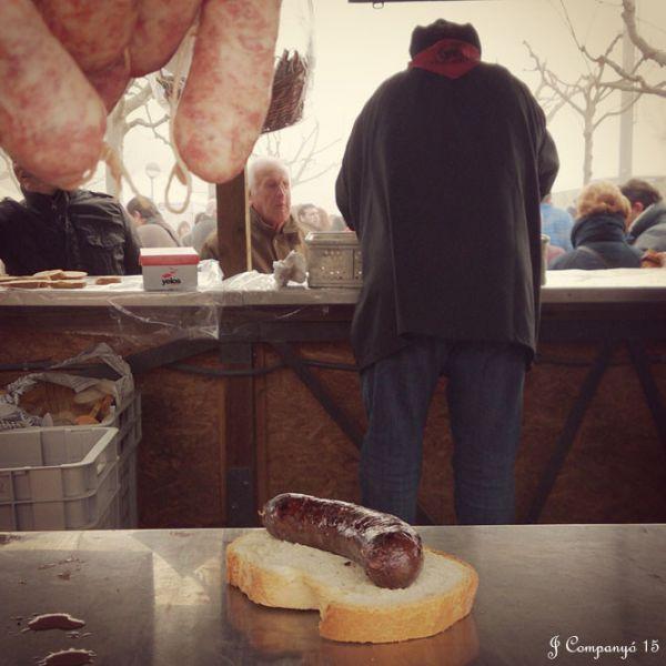 Esmorzar a ″La Barraca″