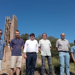 La restauració de la Torre de Merola, premiada internacionalment