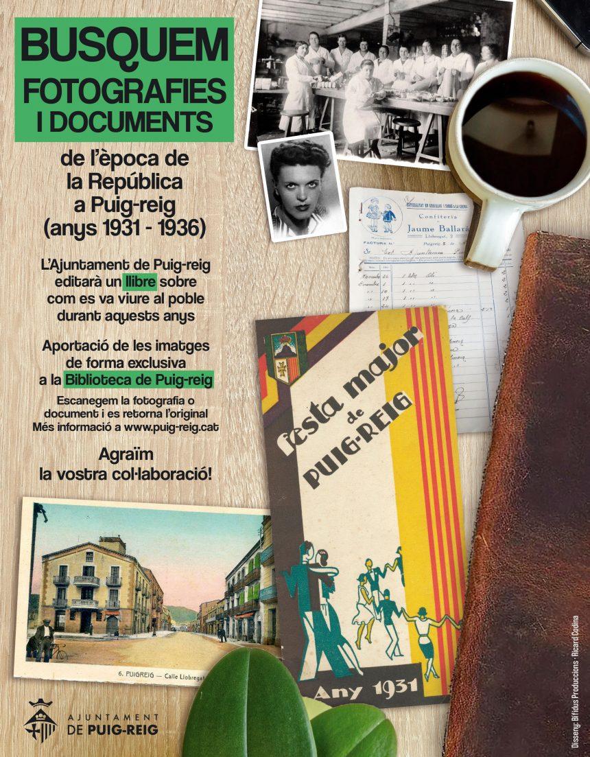 Tens fotografies, cartells o retalls de la República a Puig-reig?