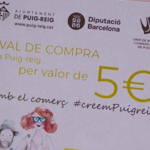 Campanya de dinamització econòmica Puig-reig