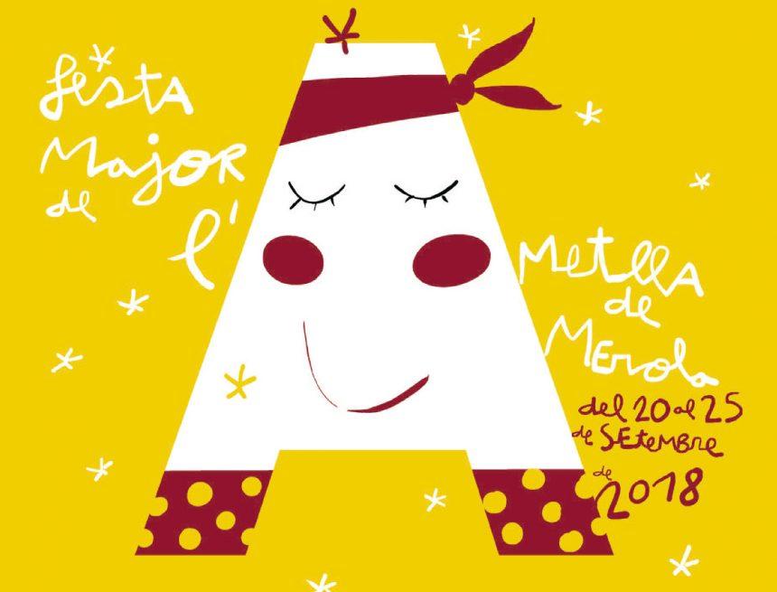 Programa de la festa major 2018 de l'Ametlla de Merola