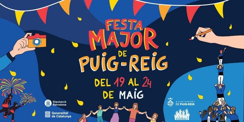 PROGRAMA FESTA MAJOR PUIG-REIG 2021 del 19 al 24 de maig