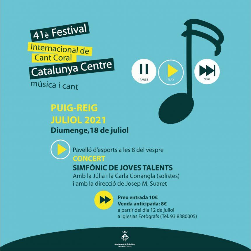 Puig-reig adapta el Festival Internacional de Cant Coral a la situació de pandèmia