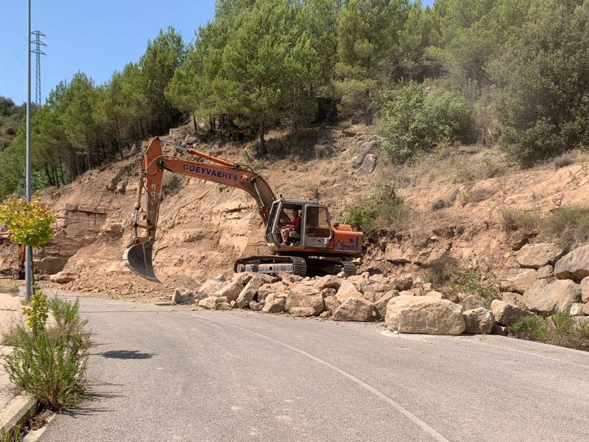 S'inicien les obres de la variant de Puig-reig per garantir-ne la circulació segura