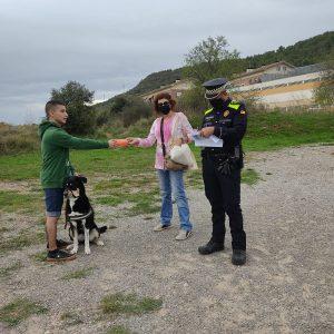 L'Ajuntament de Puig-reig inicia una campanya informativa per a la tinença responsable d'animals de companyia