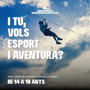 Puig-reig, Gironella i Berga conviden als joves a fer esports d'aventura