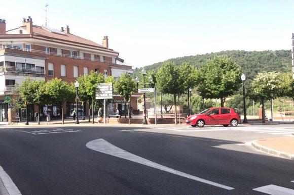 Aparcament als carrers Major i Llobregat