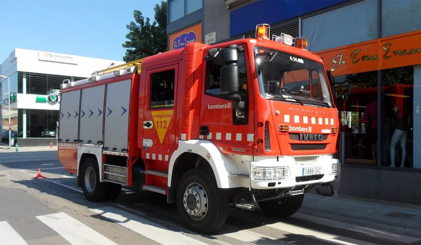 Camió de bombers manualitat