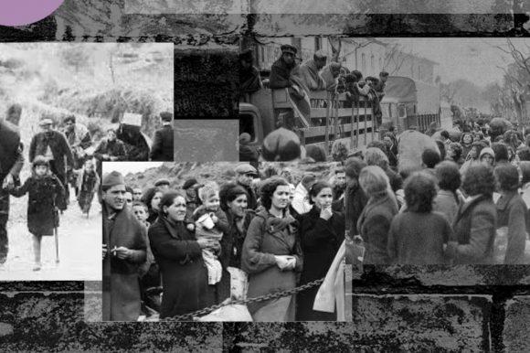 Puig-reig col·loca cinc llambordes 'Stolpersteine' per recordar els veïns deportats i assassinats als camps de concentració nazis