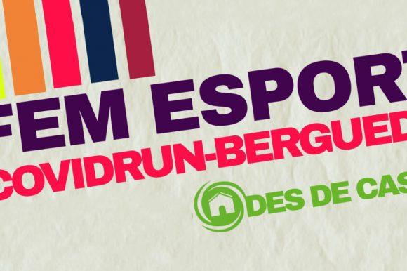 Covidrun-Berguedà: fes esport des de casa