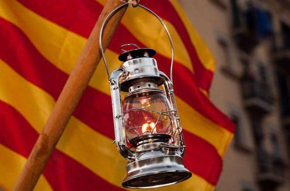 Flama del Canigó i Sant Joan a Cal Marçal