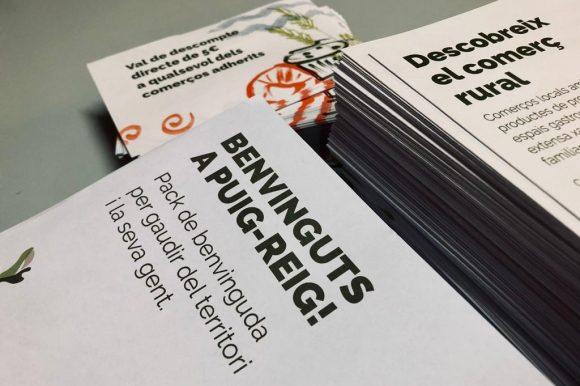 Puig-reig impulsa una campanya per promoure el comerç local entre els visitants