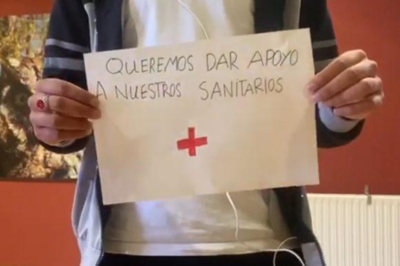 Els joves d'Al Amal es sumen a la campanya #quedatacasa