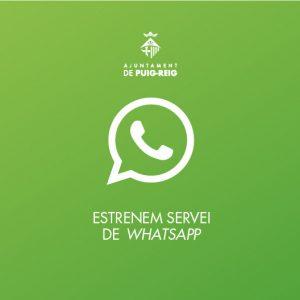 Nou servei de Whatsapp