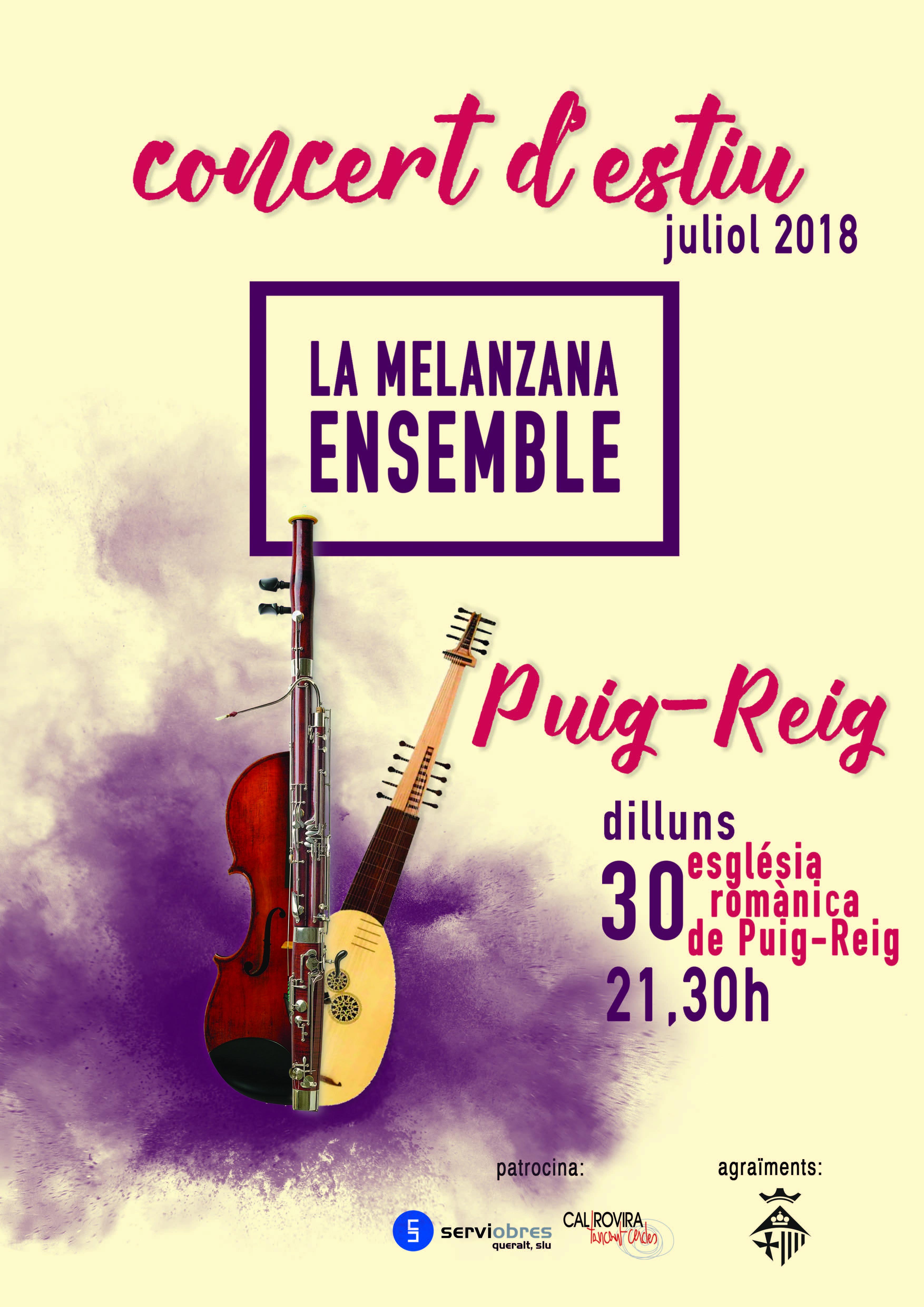 Concert d'Estiu a Puig-reig