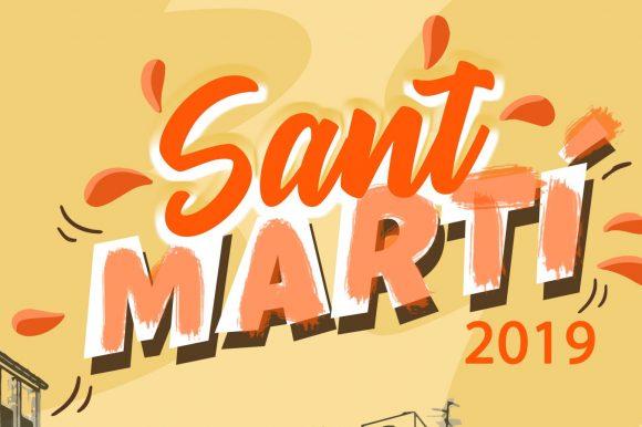 Programa Fira Sant Martí 2019